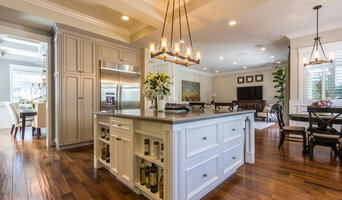 Traditional Masterpiece Featuring Garrison II Distressed Walnut Natural Flooring