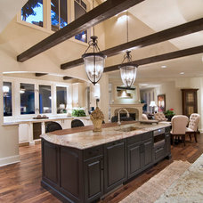 Traditional Kitchen by Belle Design Build