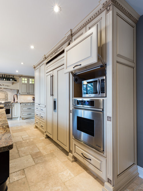 Microwave In Cabinet   Houzz