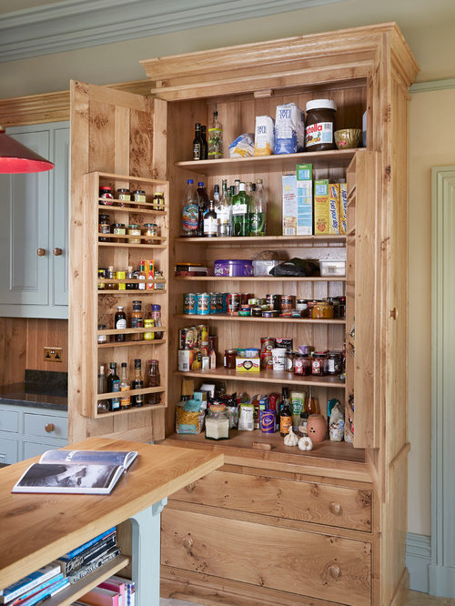 Pantry cupboard houzz - Kitchen freestanding pantry ...