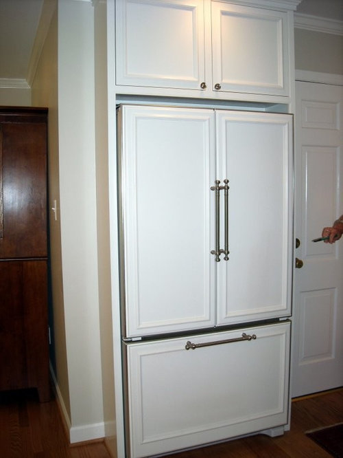 Recessed Refrigerator Houzz