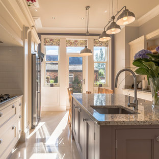 Design ideas for a victorian kitchen in Cheshire.