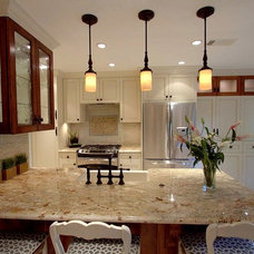Traditional Kitchen by Sweetlake Interior Design LLC