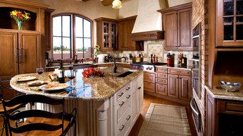 Traditional Santa Fe kitchen