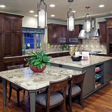 Traditional Kitchen by Curt Hofer & Associates