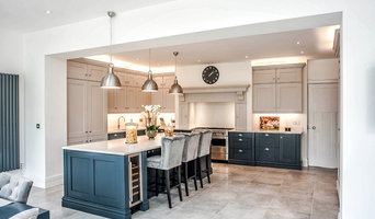 Traditional Style Island Kitchen With Modern Accents in Liverpool
