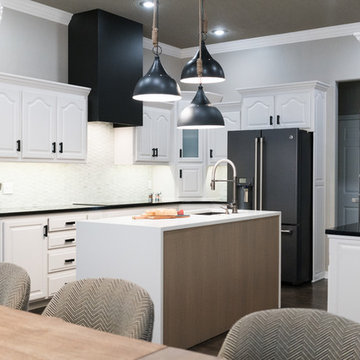 Traditional to Modern Kitchen Remodel