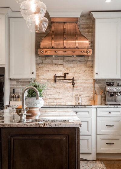 Traditional Kitchen by Elements Design Co. (DBA Kitchen Style, LLC)