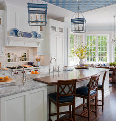 traditional kitchen by Kathleen Walsh Interiors, LLC