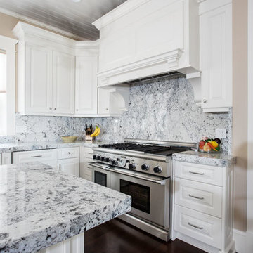 Traditional White Ice Granite Project