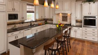 Traditional White Kitchen Remodel in Roanoke, VA