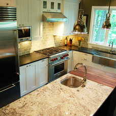 Traditional Kitchen by Traci Rauner Design