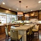 Traditional kitchen with a pantry - Traditional - Kitchen ...