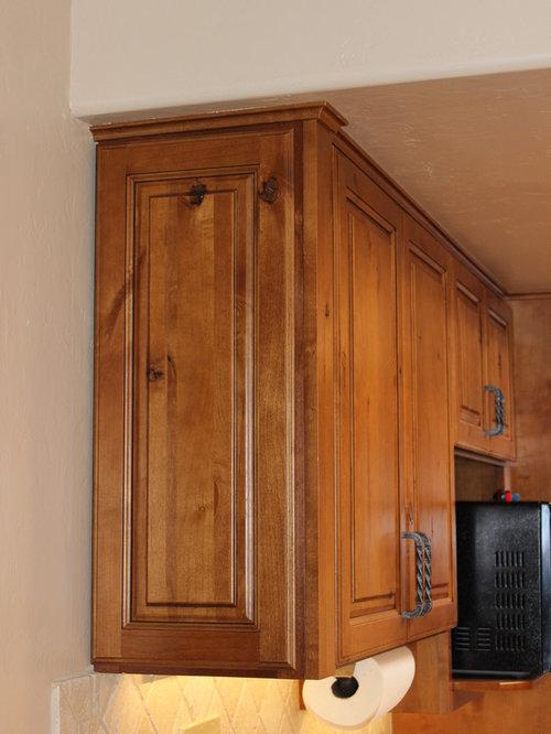 Ideas para cocinas | Fotos de cocinas en colores madera con puertas ...