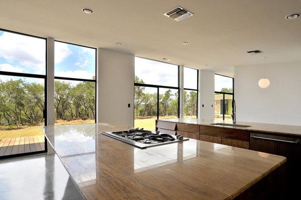 Modern Kitchen by Merzbau Design Collective