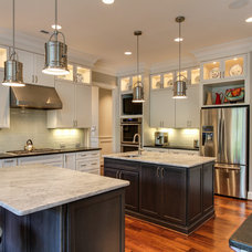 Transitional Kitchen by Scott Daves Construction Co., Inc