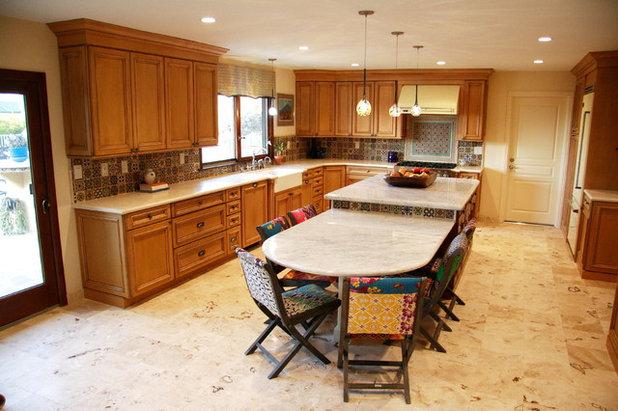 Mediterranean Kitchen by Yvonne Randolph Lifestyle Design