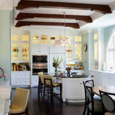 Transitional Kitchen by deakins design group