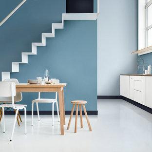 Tranquil kitchen diner