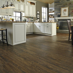 Tranquility Clear Lake Chestnut Vinyl Wood Plank -