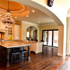 Traditional Kitchen by Custom Homes of Texas