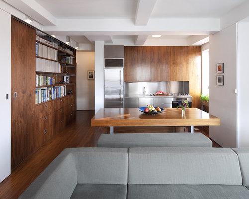 3349 one wall modern kitchen design ideas