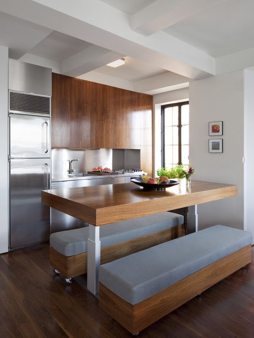 kitchen table bench ideas, pictures, remodel and decor, Kitchen design