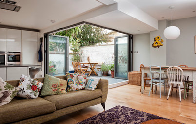 Room of the Day: A Kitchen and Living Area Get Friendly