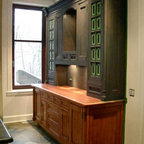 Transforming and refinishing - Traditional - Kitchen ...
