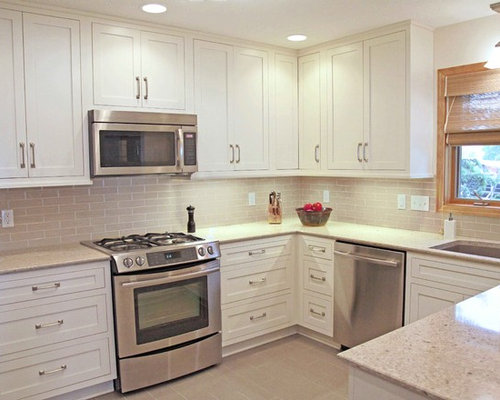 Cambria darlington home design ideas pictures remodel - Putty colored kitchen cabinets ...