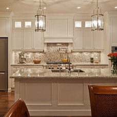 Transitional Kitchen by Distinctive by Design