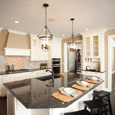 Traditional Kitchen by Ideal Cabinetry Design