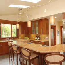 Transitional Kitchen by Arch-Interiors Design Group, Inc.