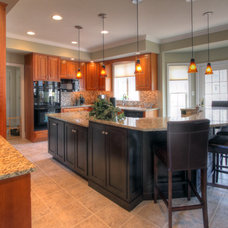 Contemporary Kitchen by K T Highland Inc