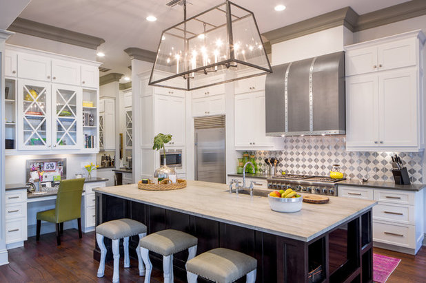 Nice Transitional Kitchen by Pasquale Design Associates Inc