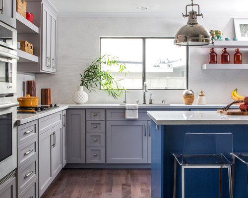 Ideas para cocinas   Fotos de cocinas modernas extra grandes