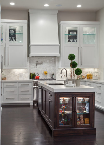 Transitional Kitchen by Nasrallah Architectural Group, Inc.
