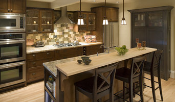 Transitional Craftsman Kitchen