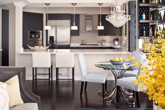 Transitional Kitchen by Jeneration Interiors
