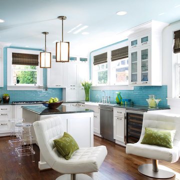 Transitional Downtown Abode, Full Home Design
