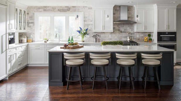 Transitional Kitchen by Kitchens by Eileen