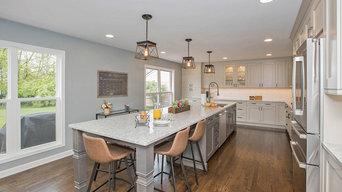 Transitional Family Kitchen in Mason