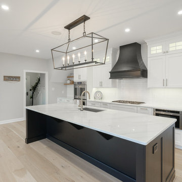 Transitional Farmhouse Kitchen and First Floor Remodel