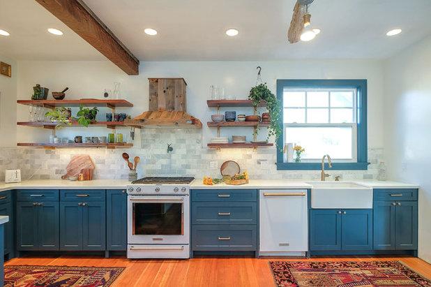 Transitional Kitchen by Emilia Decor
