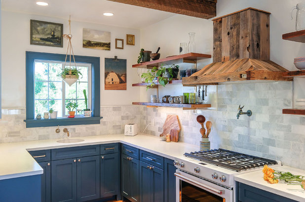 Charming Kitchen Emerges From A Dilapidated Portland Home New Kitchen Designers Portland Oregon