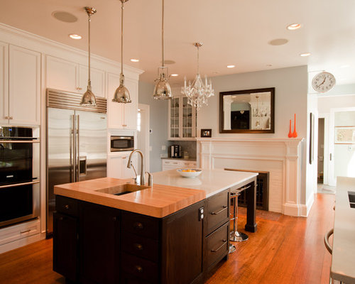 Glam Kitchen Home Design Ideas Pictures Remodel And Decor