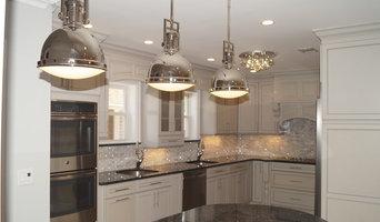 Transitional Grey Kitchen