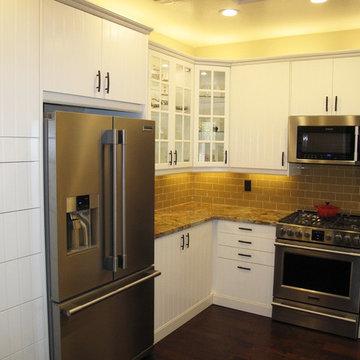 Transitional IKEA Kitchen Remodel in AZ
