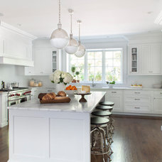 Traditional Kitchen by Kathy Tracey Design LLC