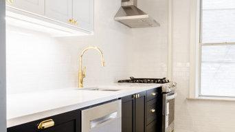 Transitional Kitchen & Bath Remodel in Brooklyn